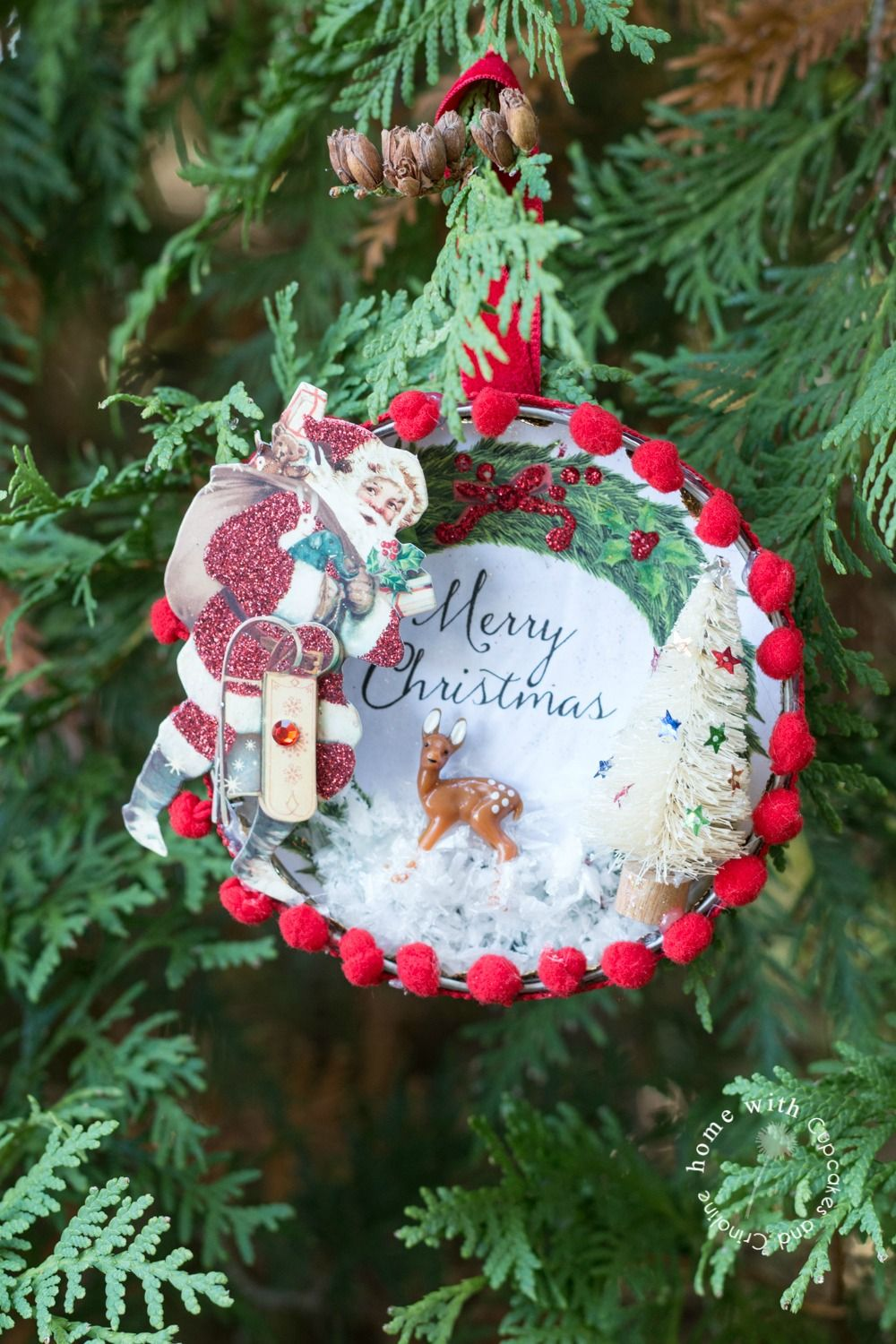 How To Make A Beautiful Vintage Style Christmas Ornament Christmas Ornaments Handmade Christmas Tree Handmade Christmas Ornaments