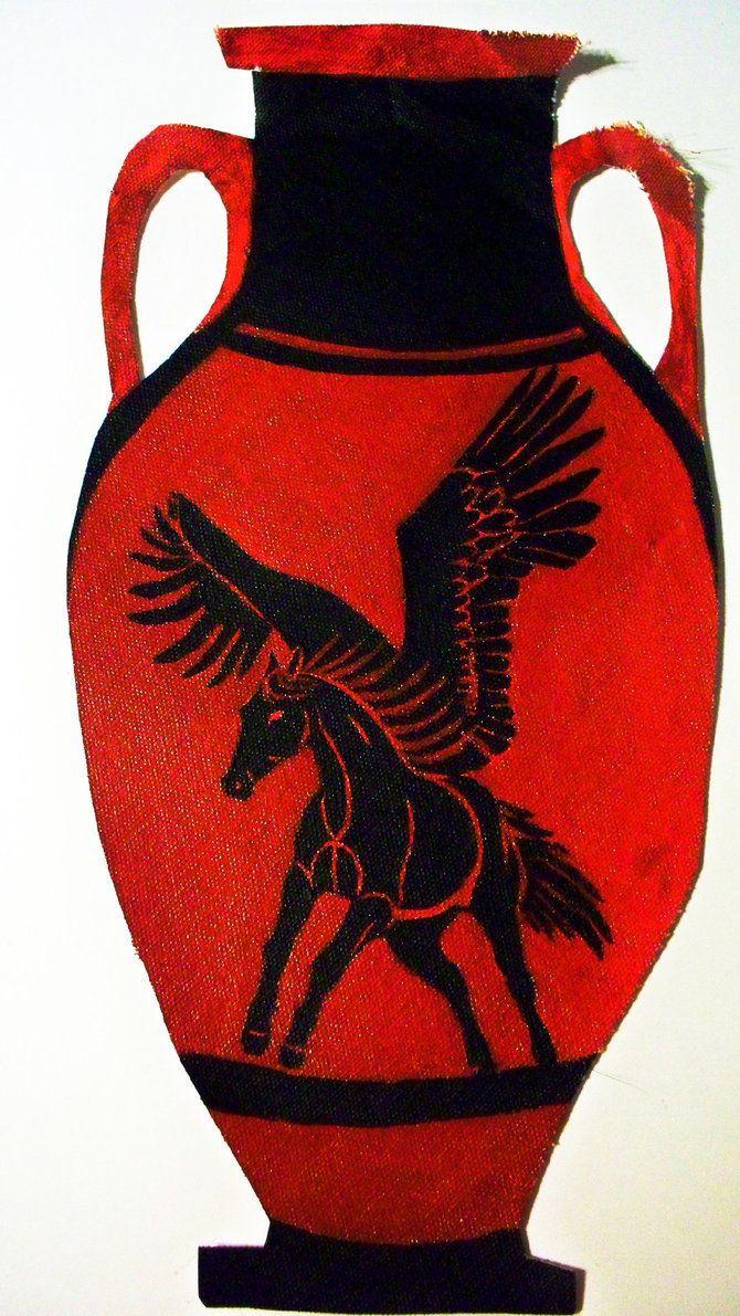 Pegasus Amphora My Drawings Art Class Art