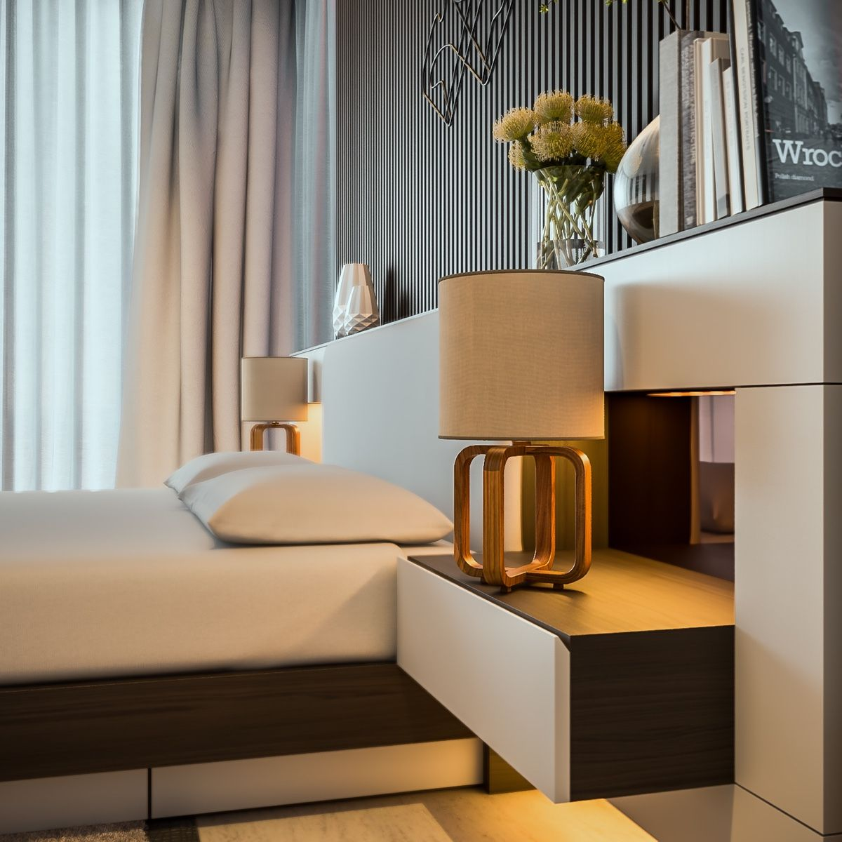 The bedroom is a place to relax, to be pampered, and to be ...
