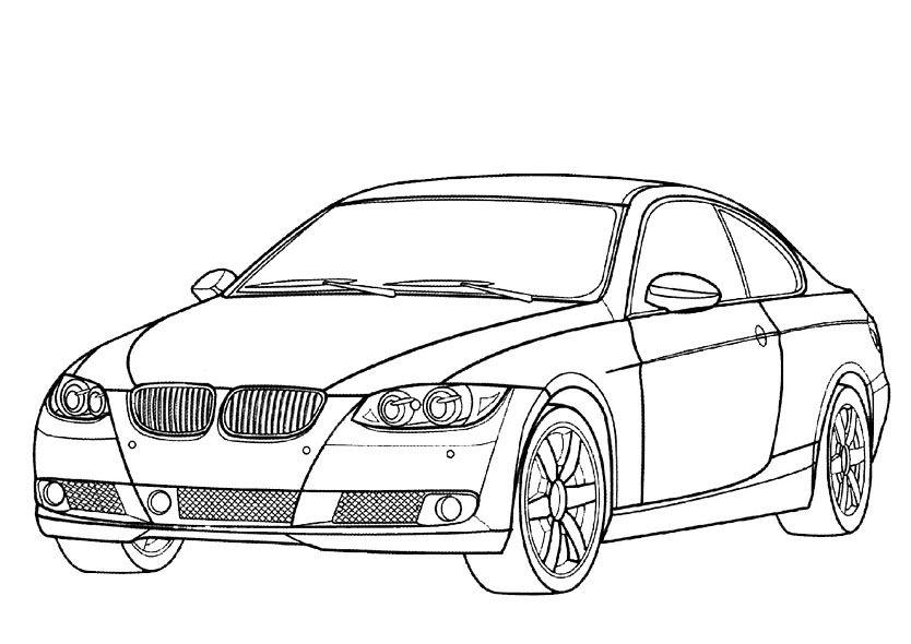 Dibujos Para Pintar Autos – Dibujos Para Pintar | pojazdy ...