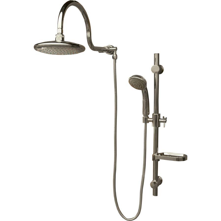 Shop PULSE 2.5-GPM/9.4-LPM Chrome WaterSense Rain Shower Massager at ...
