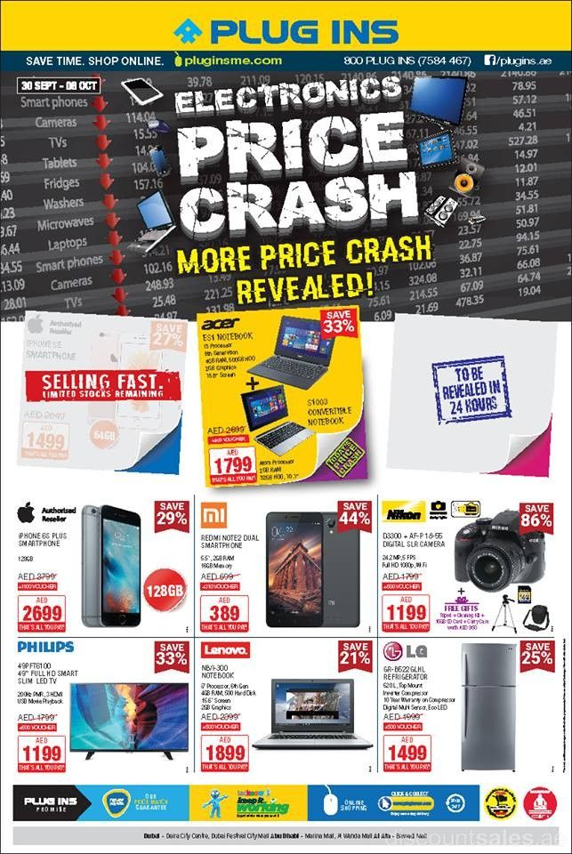 Plug Ins Electronic Price Crash Offers Discount Sales In