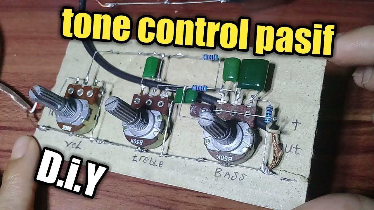 Cara Merakit Tone Control Pasif Mudah Tanpa Pcb Rangkaian Elektronik Elektronik Teknologi