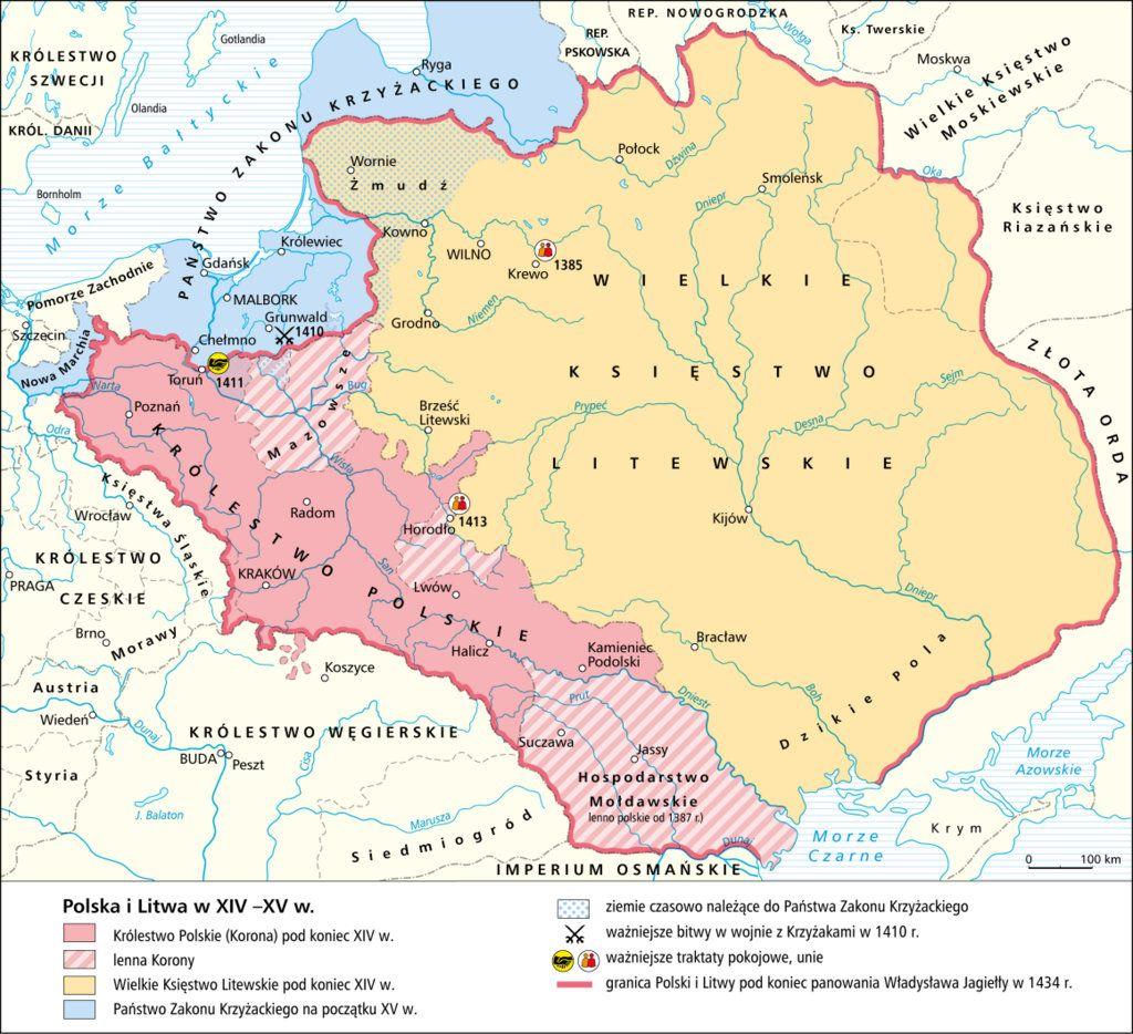Polonia Y Lituania En Los Siglos Xiv Y Xv Historia Litwa I