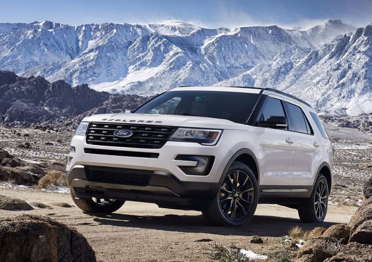 The Ford Explorer Is Equipped With The Latest In High Quality