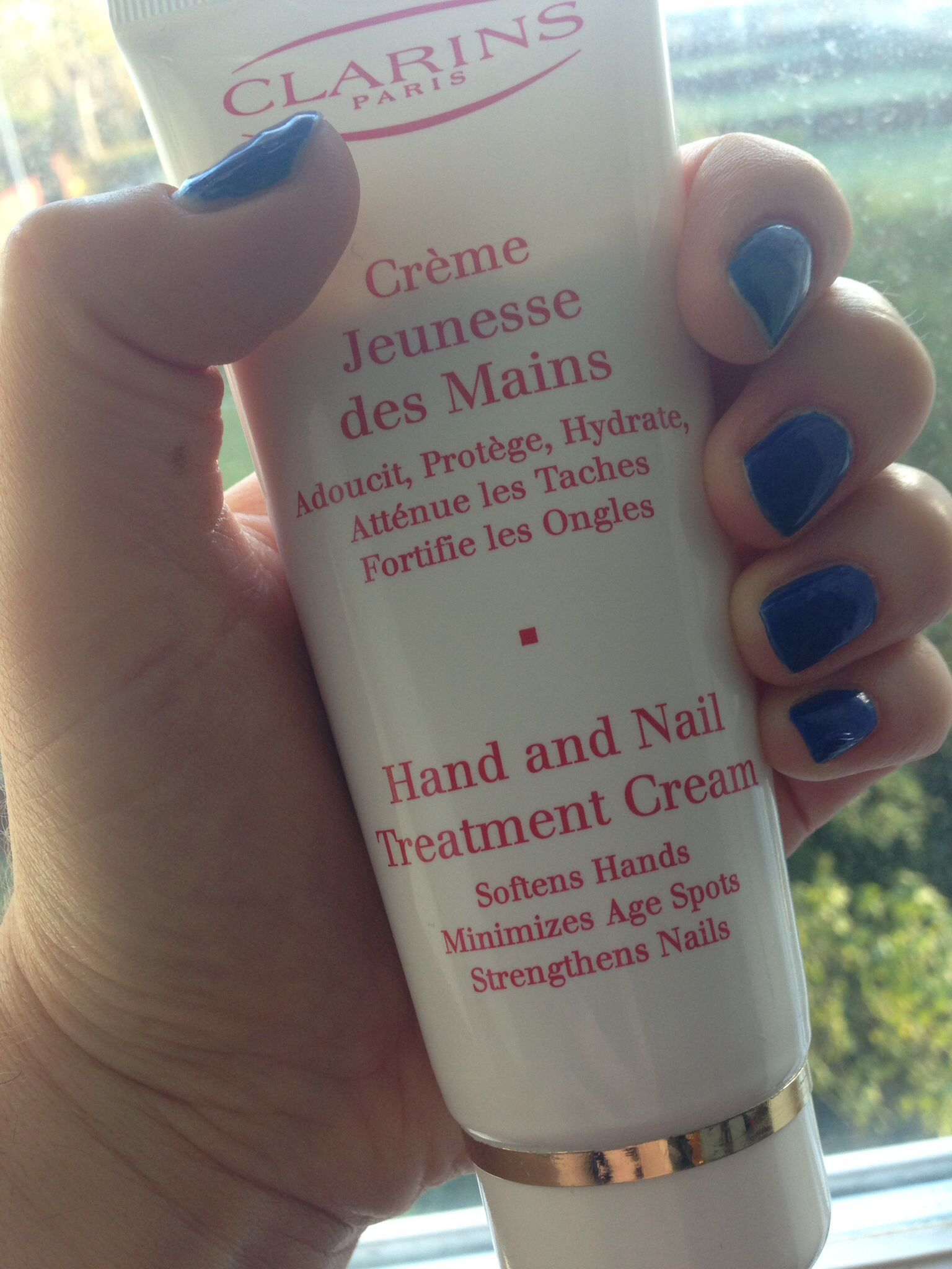 Favourite Clarins hand cream