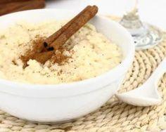 Riz au lait au fromage blanc 0% et cannelle spécial brûle-graisses