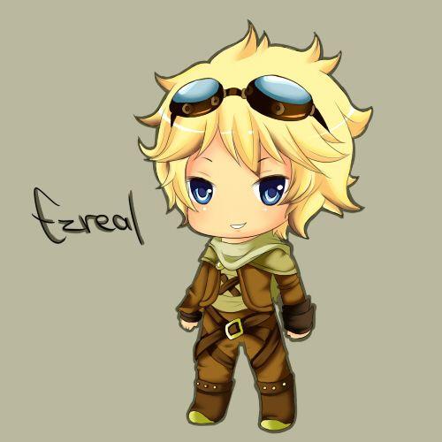 Ezreal - League of Legends by ~Cherrycake4 on deviantART