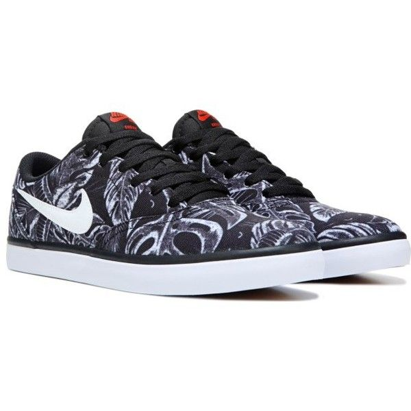 Men's Nike SB Check Solar Canvas Skate Shoe ($70) ❤ liked on Polyvore featuring men's fashion, men's shoes, men's sneakers, nike mens shoes, mens skate shoes, mens shoes, mens canvas sneakers and mens sneakers