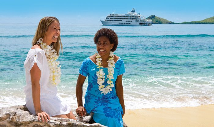 8 Day Fijian Fun vacation package includes 3 night cruise, 3 nights hotel, bkfst, transfers & more. Travelscene.com