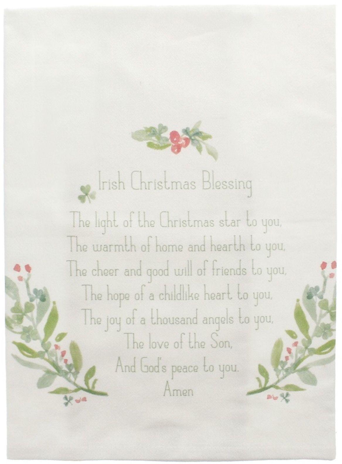 Irish Christmas Blessing | Irish Sayings/Quotes | Pinterest