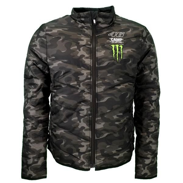 217929b23a516 Valentino Rossi VR46 Camp Edition Moto GP Monster Padded Jacket Official  2016