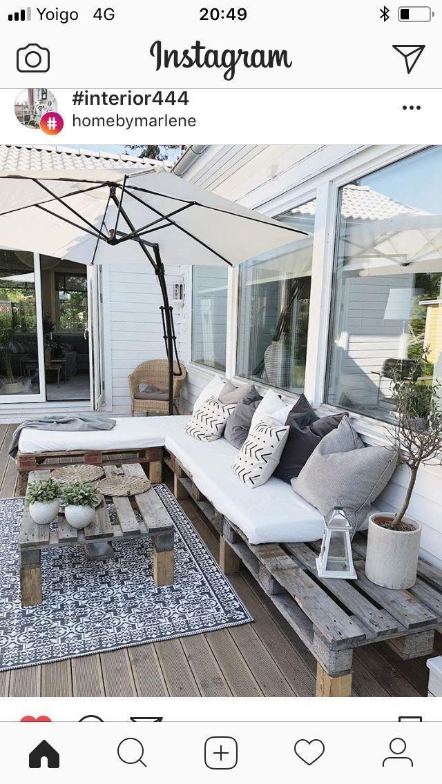 Terrasse – moebeldeal.com – Möbel & Einrichtungsideen #idéesdemeubles