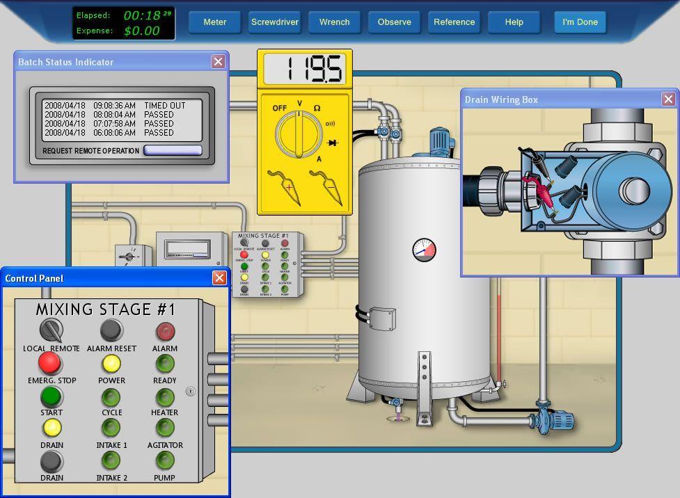 Process control solutions maintenance pinterest for Motor circuit analysis training