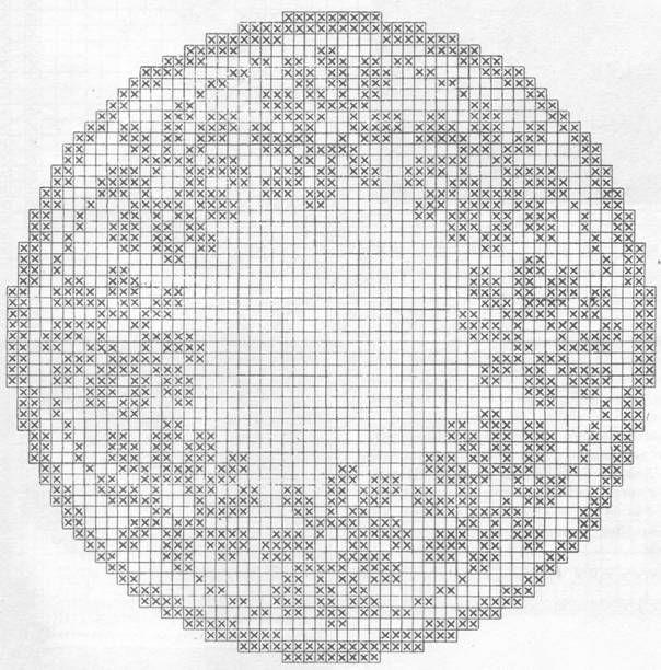 Decke rund Blumen | Häkeln / crochet / crocheté_diverses | Pinterest ...