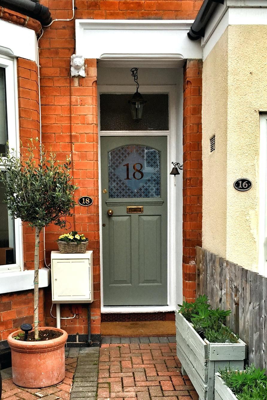 One way to beautify the entrance of your home is to place
