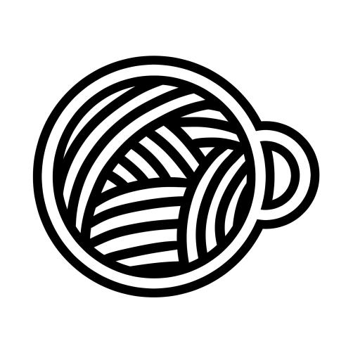 cupped noodle logo logo design pinterest logos logo design Korean Sweets cupped noodle logo korean logo steam logo restaurant signage chinese logo round