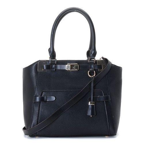 michael kors large blake pebbled leather satchel black handbags rh pinterest com