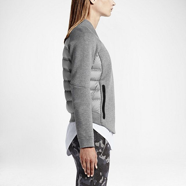 In love with this @Nike Tech Fleece Aeroloft Moto Women's