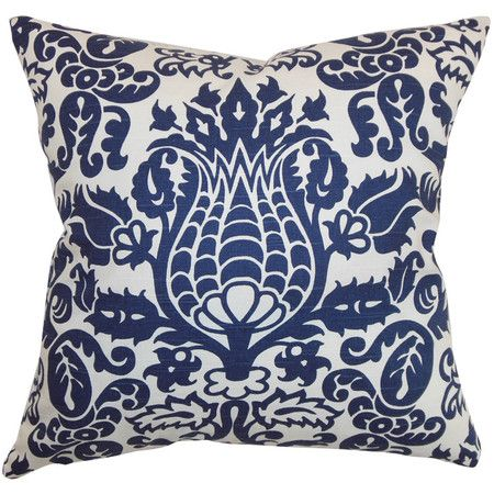 I pinned this Amsterdam Pillow in Snorkel from the Shades of Style event at Joss and Main!