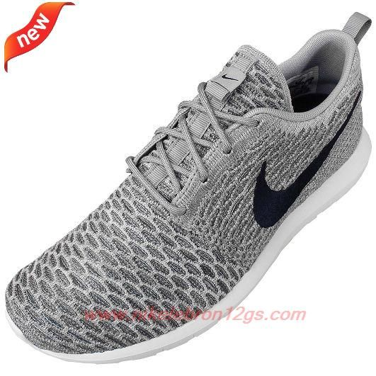 low priced 500f9 c6fcd 677243-006 Light Charcoal Dark Obsidian-Wolf Grey Nike Flyknit Roshe Run  Outlet Canada