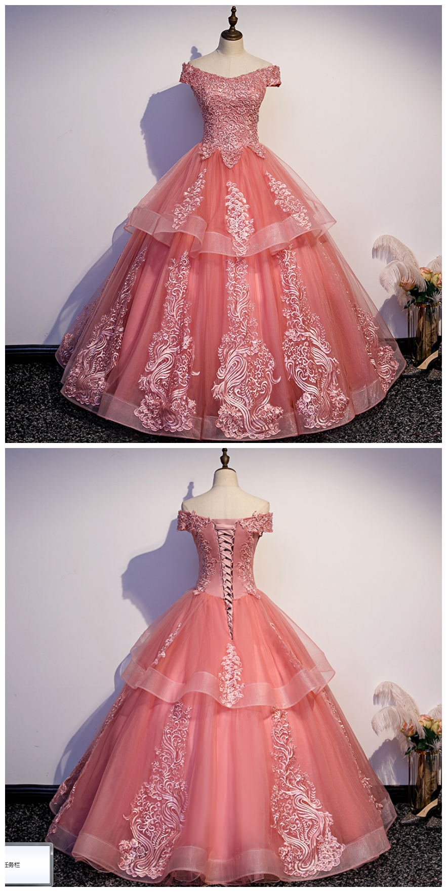Glam Tulle Layers Ball Gown Princess Party Dress Sweet 16 Dresses Sweet 16 Dresses Dresses Ball Gowns [ 1762 x 883 Pixel ]