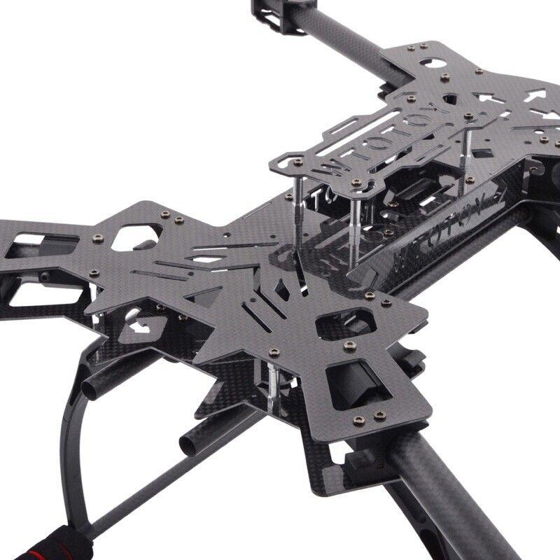 f11101 hmf600 rc drone quadcopter frame kit carbon fiber foldable