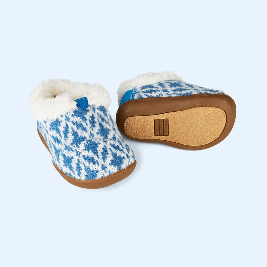 83bdb3fd385 These super cosy house slippers are perfect for those lazy days at home. We  love their festive textile