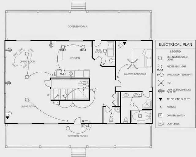electrical engineering world  house electrical plan