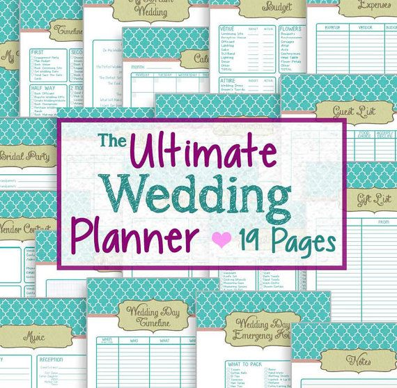 "The ""Something Blue"" Ultimate Wedding Planner Has 19"