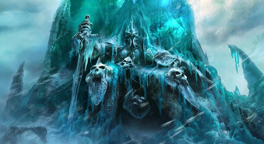 Lich King On Throne Character Art From World Of Warcraft Wrath Of The Lich King Art Illustration Ar Lich King World Of Warcraft Wallpaper World Of Warcraft World of warcraft wallpaper engine