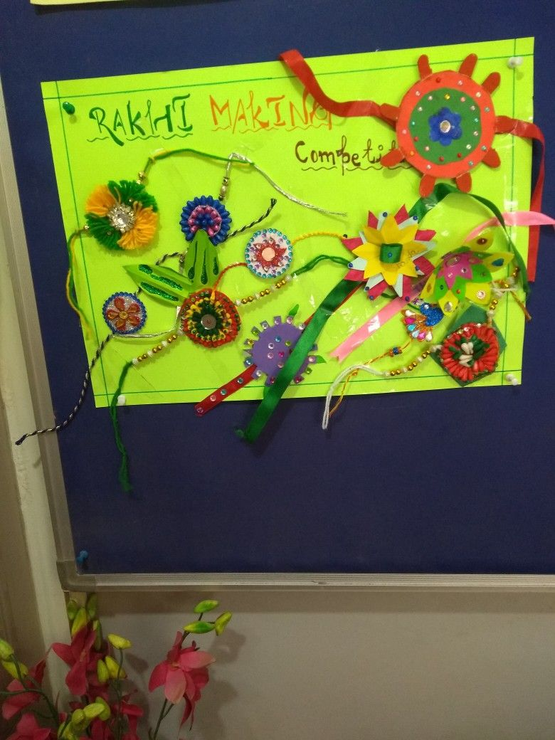 Rakhi making competition | My Passion For Children And Teaching ...