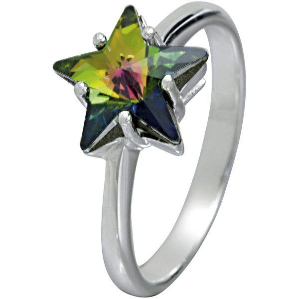 SWAROVSKI CRYSTALLIZED™ Star Ring ❤ liked on Polyvore
