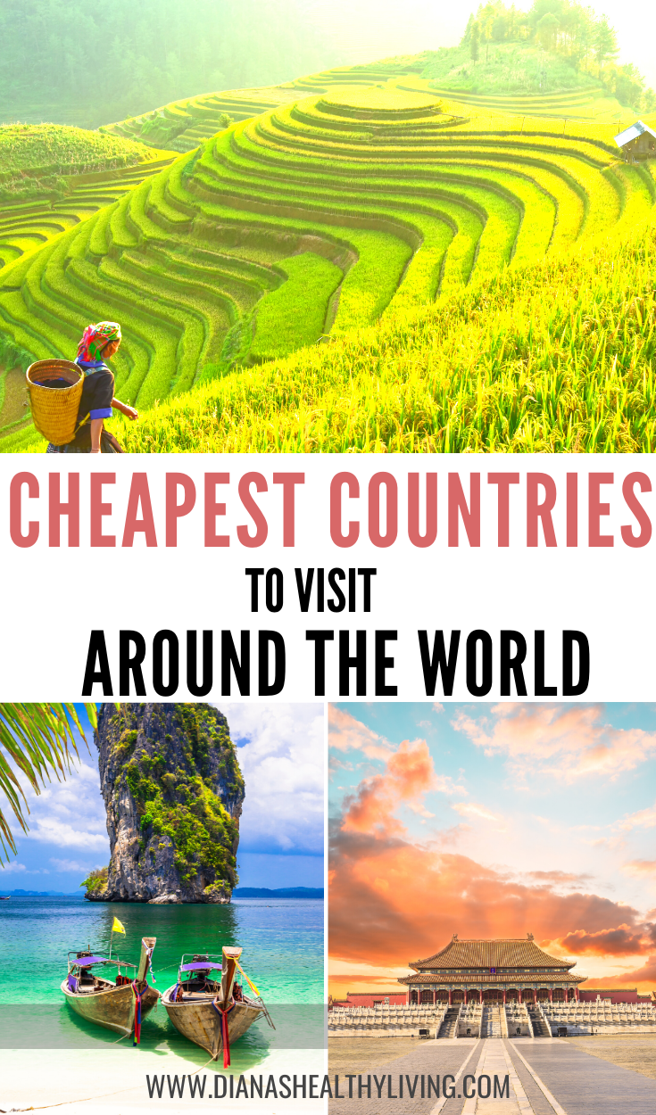 Looking for the cheapest country to visit? Here are the top cheapest countries to visit in the world! These are affordable destinations that offer the most value for an unforgettable vacation. Visit India Nepa Greece Turkey and so much more. hacks #cheaptravel #budgettrav #style #shopping #styles #outfit #pretty #girl #girls #beauty #beautiful #me #cute #stylish #photooftheday #swag #dress #shoes #diy #design #fashion #Travel