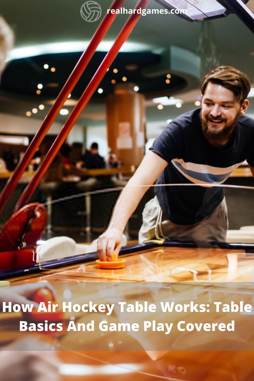 How Air Hockey Table Works Air hockey, Air hockey table