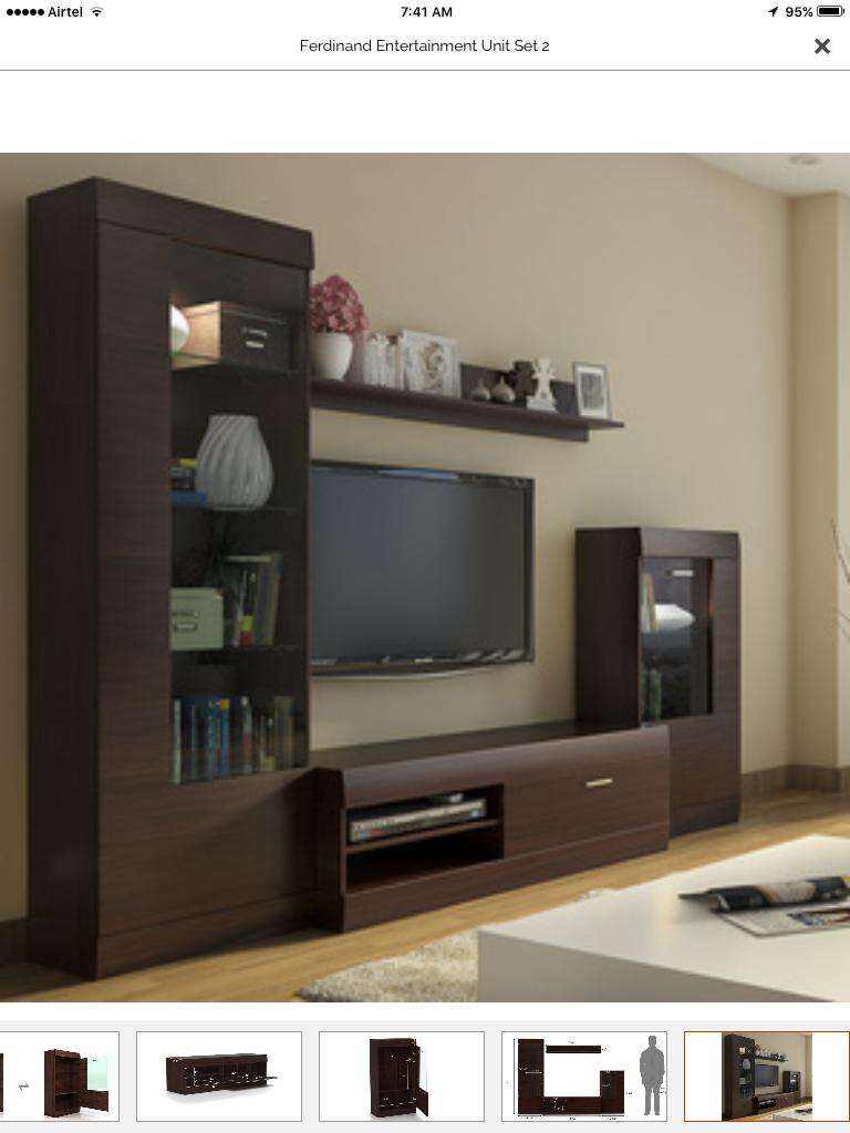 Pin By M N Vijay Kumar On Wall Cabinets Tv Unit Design