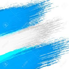 Resultado de imagen para bandera argentina acuarela