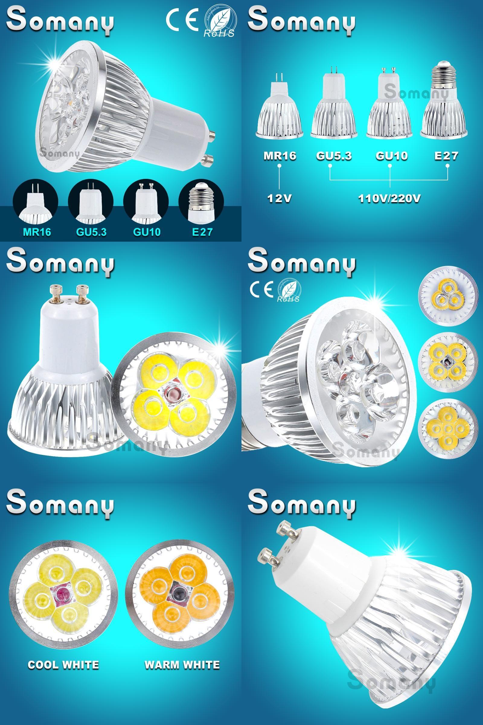 Visit To Buy Gu10 Gu5 3 E27 220v 110v Support Dimmer 3 15w