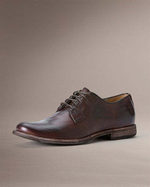 Phillip Oxford $218 at the fryecompany.com.  Everyone needs a good pair of Oxfords.