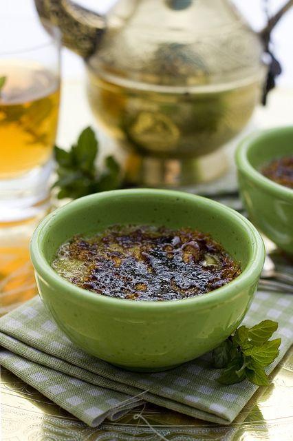 Matcha Creme Brule Juls Kitchen Grilled Fruit Dessert Food Green Tea Diet