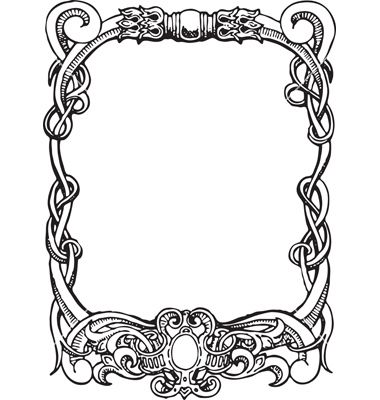 Art nouveau frame vector art - Download Frame vectors - 1041113 ...
