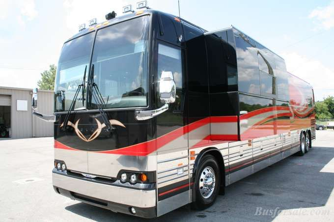 Prevost baby! | Tour Bus Ideas! | Bus motorhome, Buses for