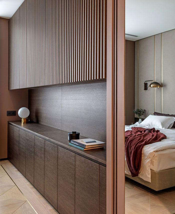Archetype renovierte Moskau Apartment mit Farbe für ...
