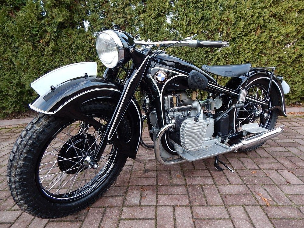 1940 Bmw R Series R12 Vintage Motorcycle For Sale Via Rocker Co Vintage Motorcycles For Sale Bmw Brat Bike