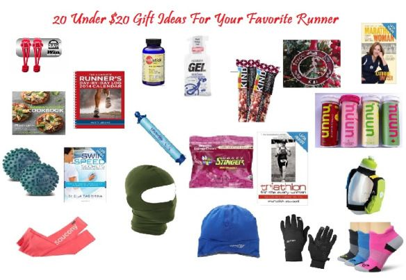 20 Under 20 Gift Ideas For Your Favorite Runner Run To Munch Running Amp Fitness Cliches