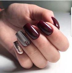 Red acrylic nails black ideas for party nail designs  ostty design also pinterest una decoradas rh co