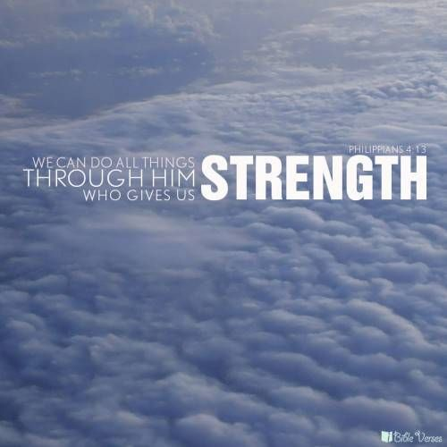 Quotes On Strength Bible: Inspirational Bible Quotes About Strength