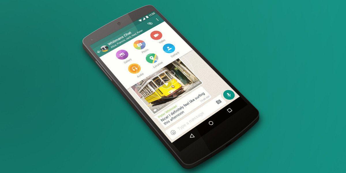 Descargar WhatsApp versión Beta 2.16.268 con flash para selfies!