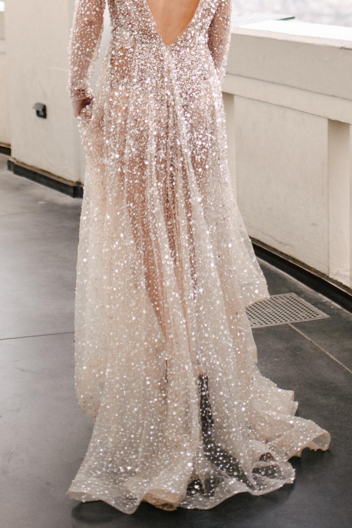 Modern Chic Galaxy Inspired Wedding Ideas Wedding Dresses Pink