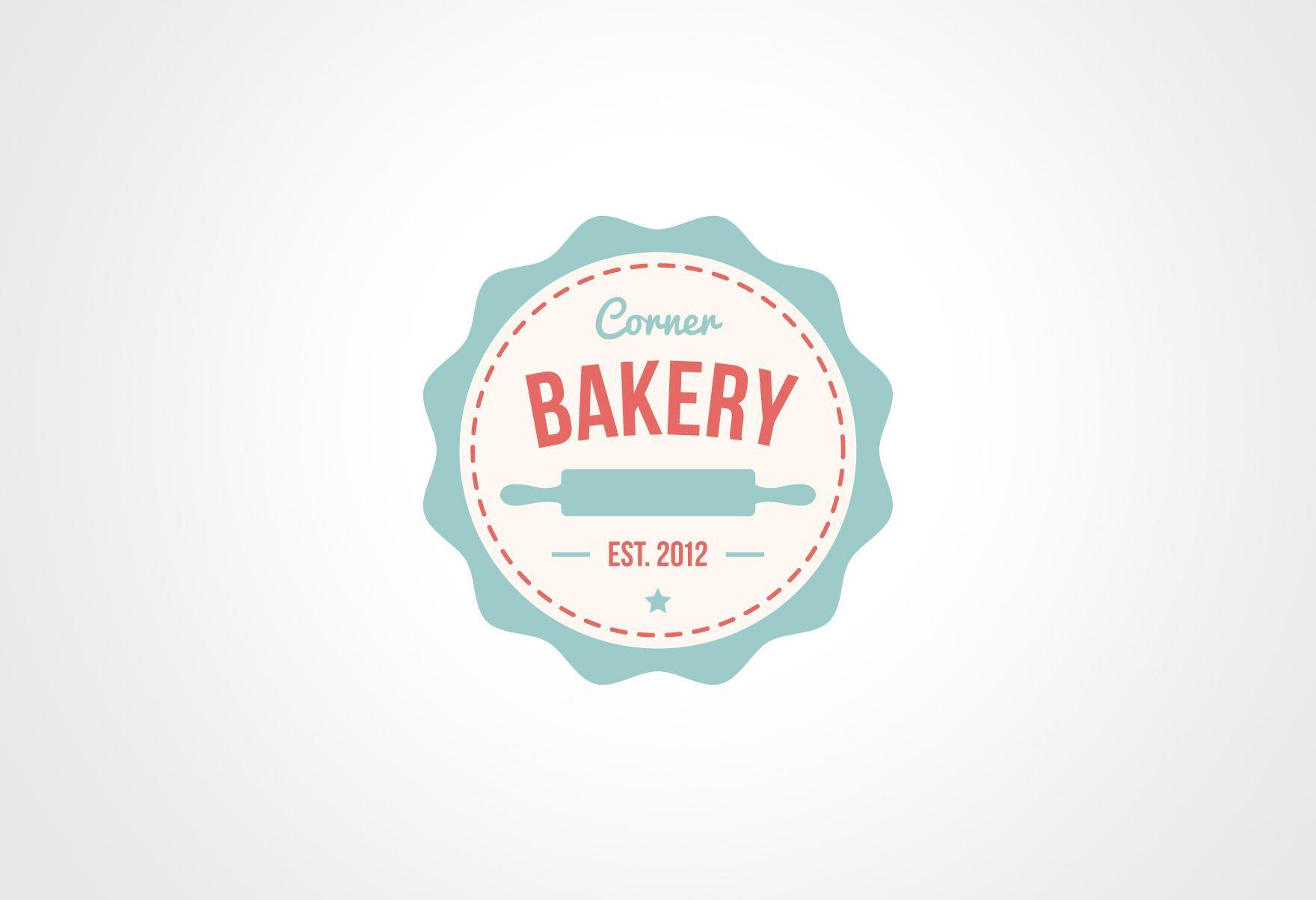Speak your mind cancel reply logo pinterest bakery logo premade logo design bakery retro vintage by clementinecreative pronofoot35fo Choice Image